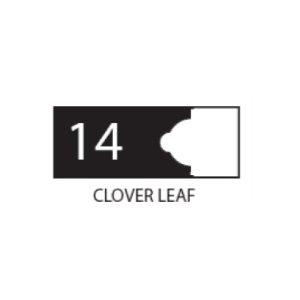 """(SET 3) 1"""" COROB LIGHT DUTY MOULDING KNIVES (CLOVER LEAF)"""