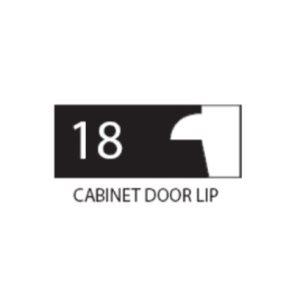 "(SET 3) 1"" COROB LIGHT DUTY MOULDING KNIVES (CABINET DOOR LIP)"