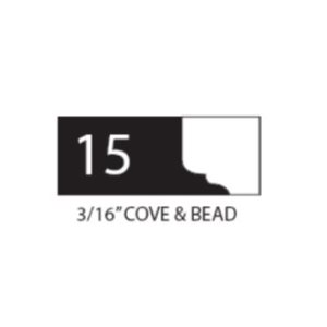 "1"" THICK COROB SHAPER CUTTER (3 / 16"" COVE & BEAD)"