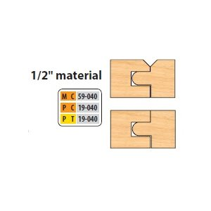 "3 / 4"" BORE 8 PC FLOORING / V-PANEL SET"