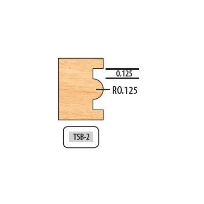.125 RAD 6 WING 5 / 8'' BORE 8'' DIAMETER