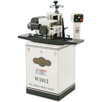 "W1812 - 2 HP 7"" Planer / Moulder with Stand"